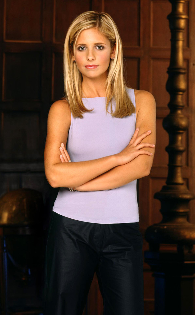 Sarah Michelle Gellar, Buffy The Vampire Slayer.