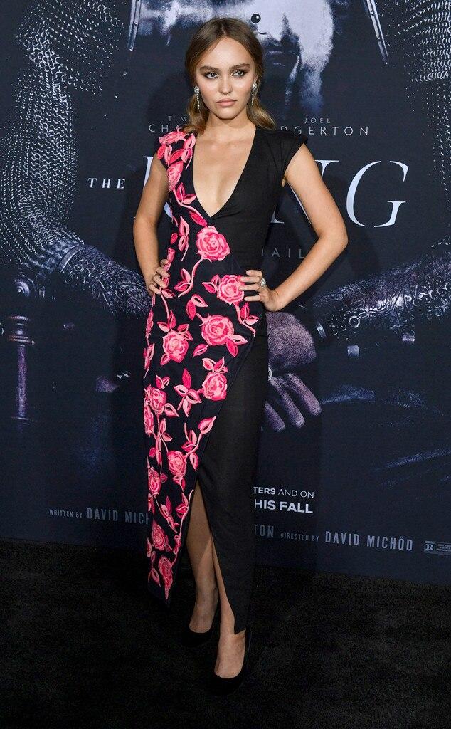 Lily-Rose Depp, Fashion Police Widget
