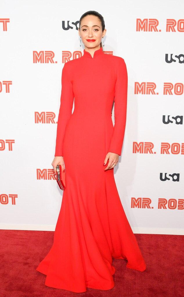 Emmy Rossum, Fashion Police Widget