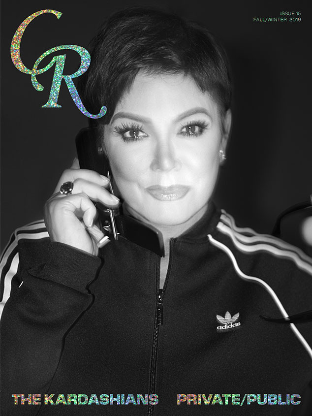 Kris Jenner, CR Fashion Book