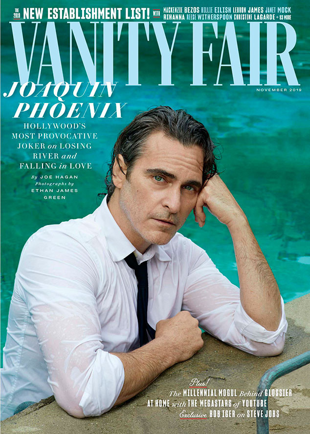 Joaquin Phoenix, Vanity Fair, November 2019