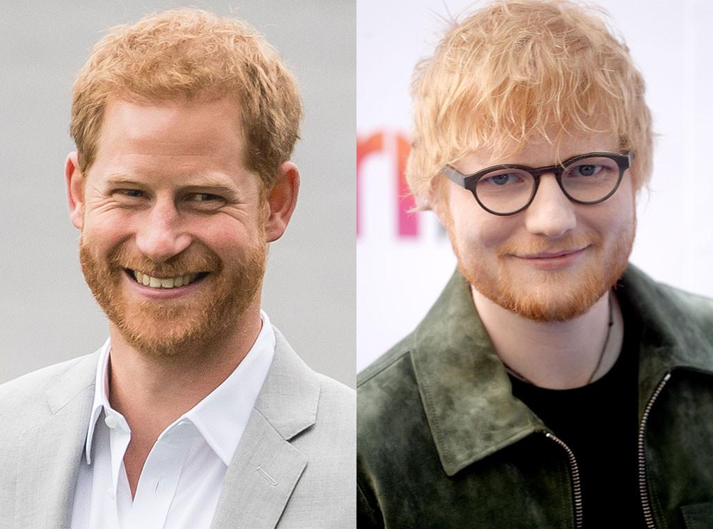 Prince Harry, Ed Sheeran