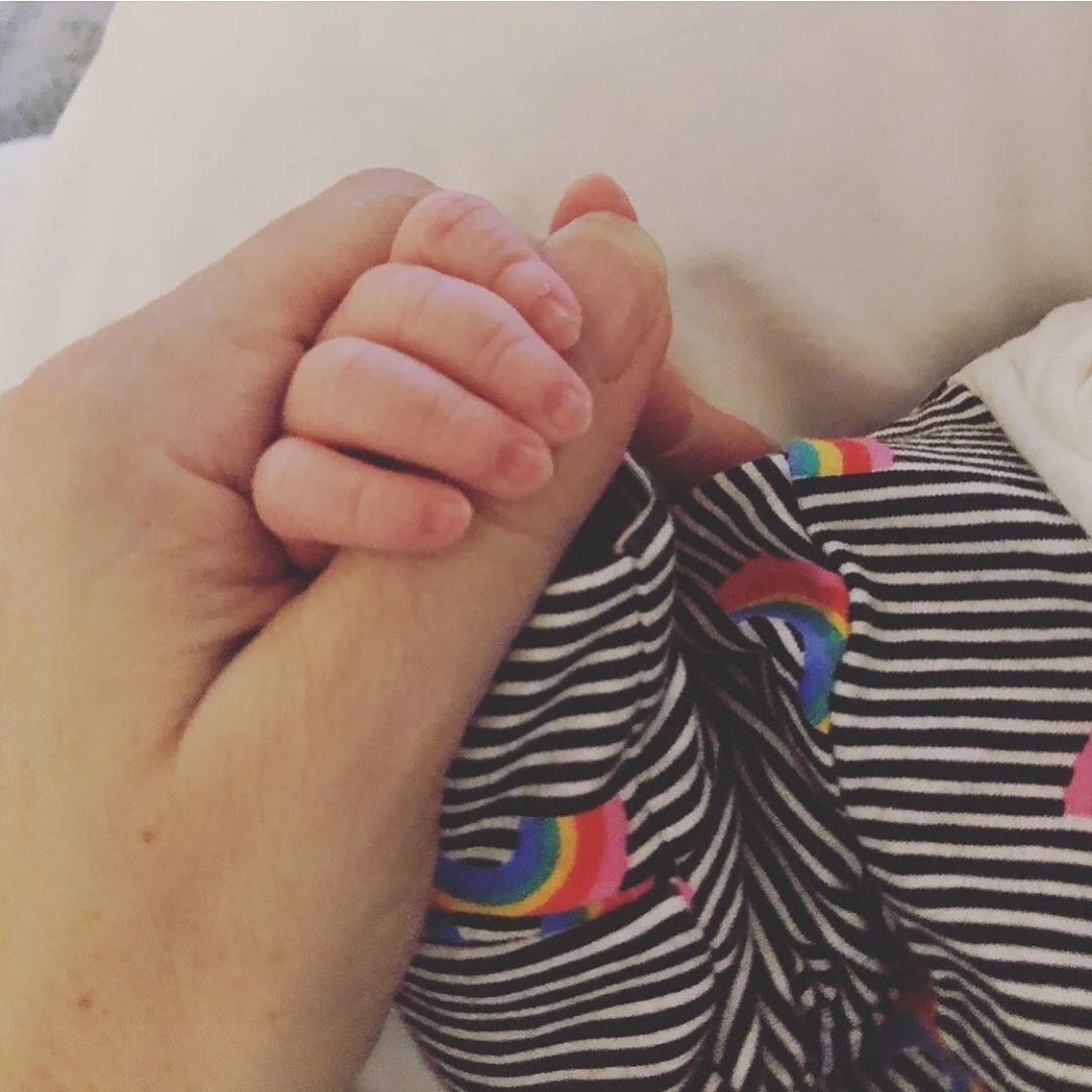 Natalie Imbruglia, Baby Instagram