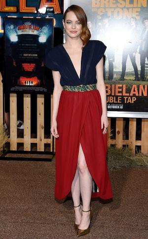 Emma Stone, Fashion Police Widget