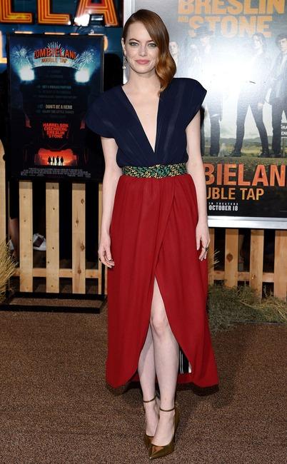 Emma Stone, widget of the fashion police