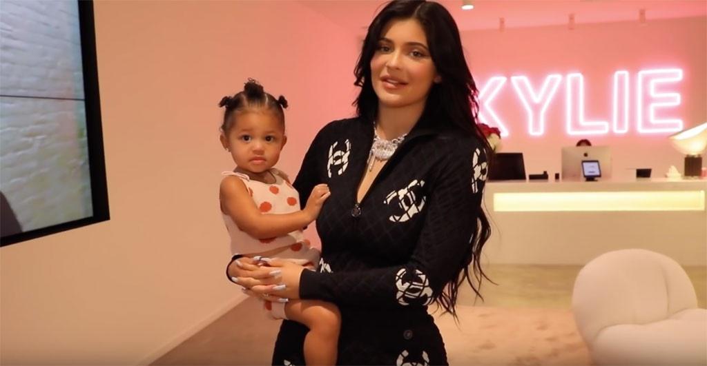 Kylie Jenner, Office Tour, Stormi Webster