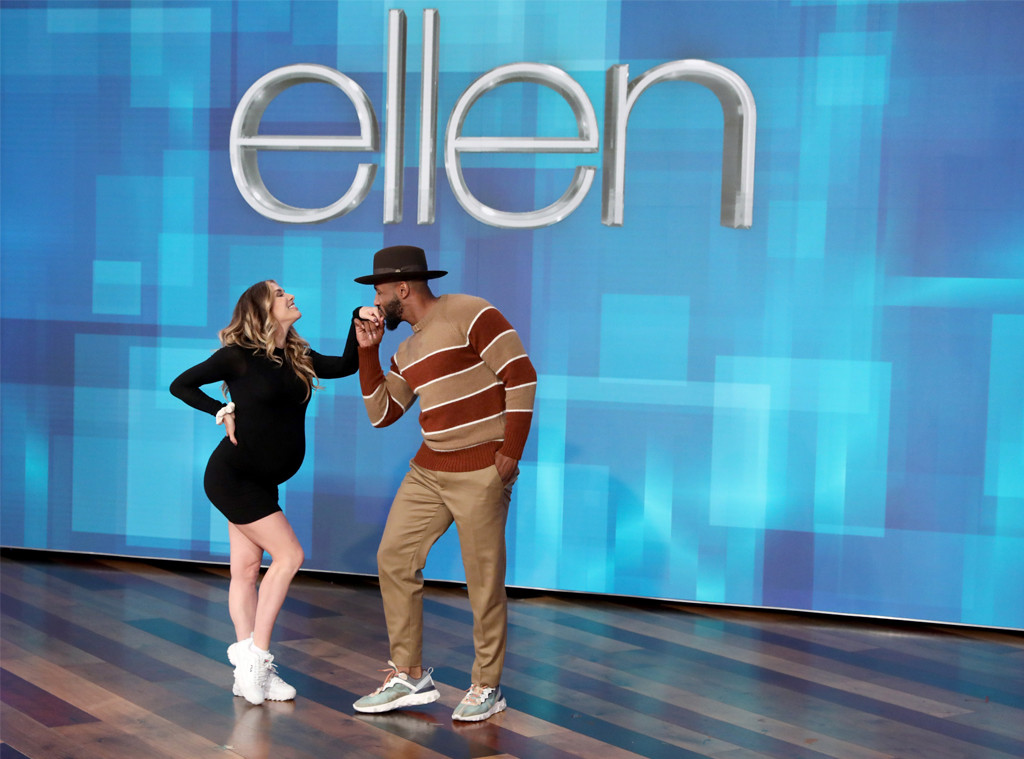 "Stephen tWitch"" Boss, Allison Holker, The Ellen DeGeneres Show 2019"