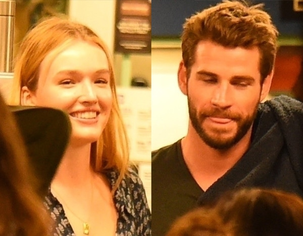 Liam Hemsworth Is All Smiles on Date With Dynasty's Maddison Brown 2 Months After Miley Cyrus Split