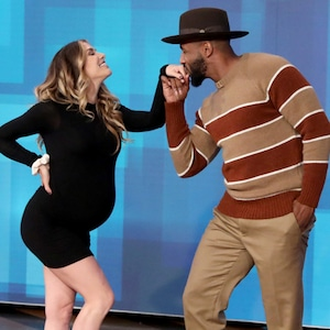 "Stephen ""tWitch"" Boss, Allison Holker, The Ellen DeGeneres Show 2019"