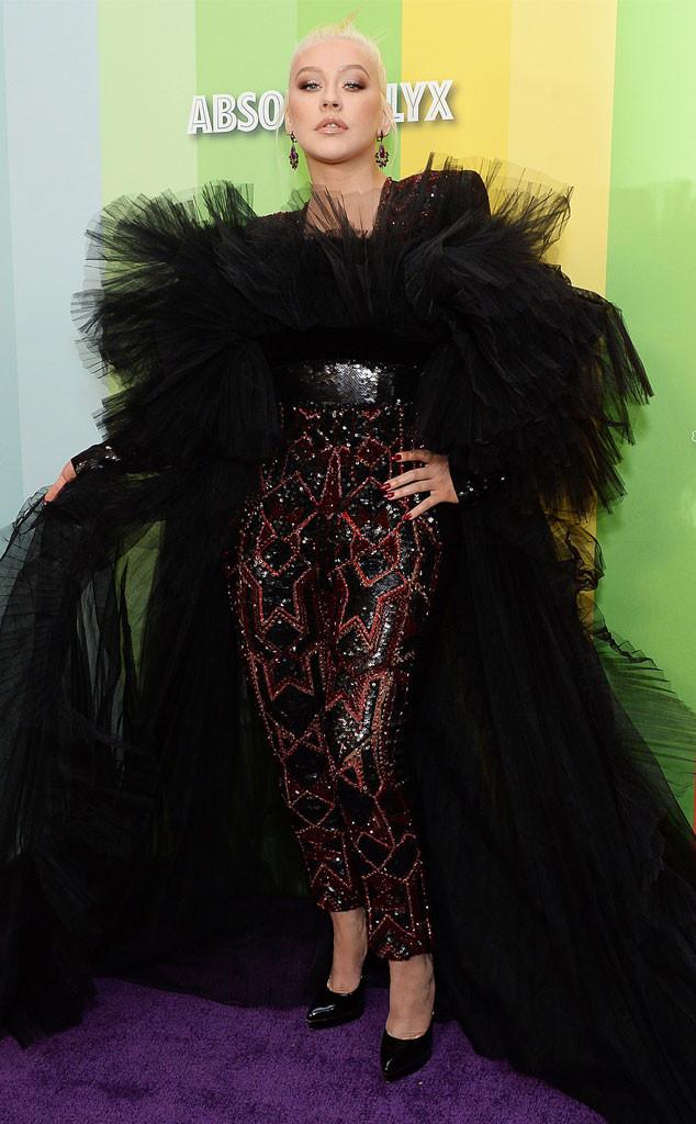 Christina Aguilera, 2019 amfAR Gala, Arrivals