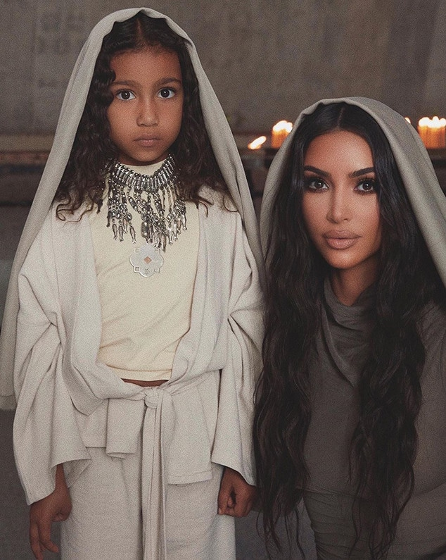 Kim Kardashian, North West, Instagram