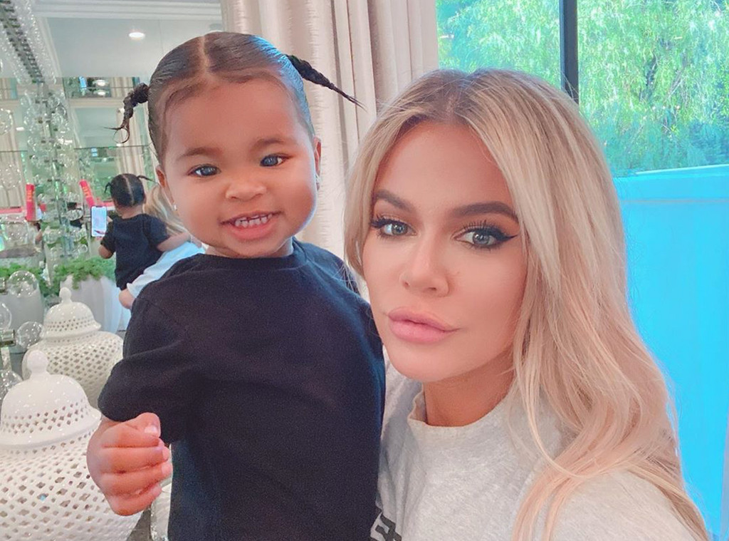 Khloe Kardashian, True Thompson, Instagram