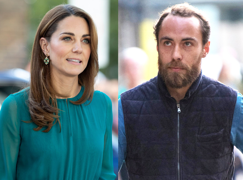 Kate Middleton, James Middleton