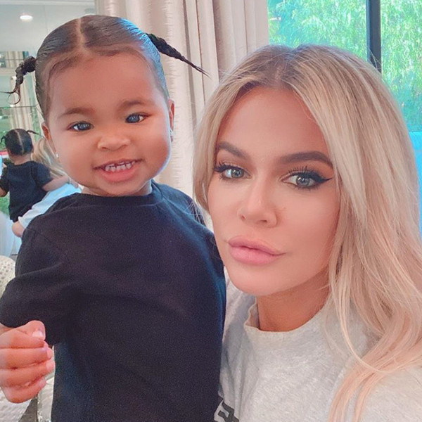 "Khloe Kardashian Shares the Sweetest Kiss With ""Love of My Life"" True Thompson"