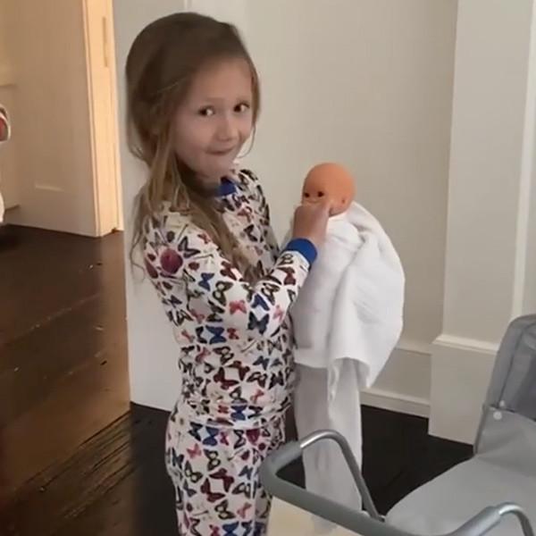 Hilaria Baldwin and Alec Baldwin's Daughter Carmen Reveals the Sex of Baby No. 5