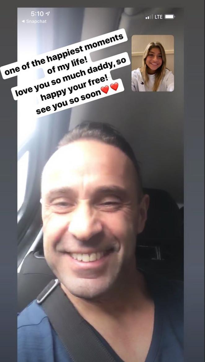 Joe Giudice, Gia Giudice, FaceTime, Instagram