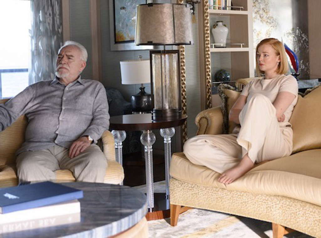 Brian Cox, Sarah Snook, Succession