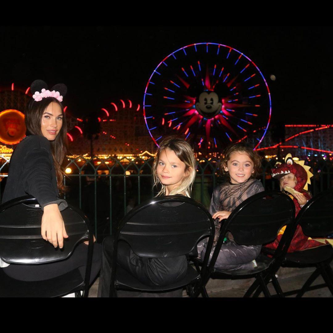 Megan Fox, Kids, Sons, Noah, Bodhi, Journey, Disneyland
