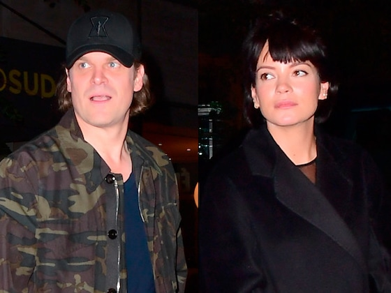 David Harbour Brings Lily Allen and His Dad to <i>SNL</i> After-Party
