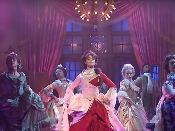 Camila Cabello Channels Madonna in Regal <i>SNL</i> Performance