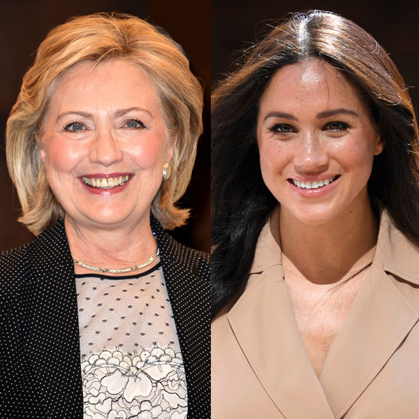 Hillary Clinton Defends Meghan Markle Over Her Treatment by the Media