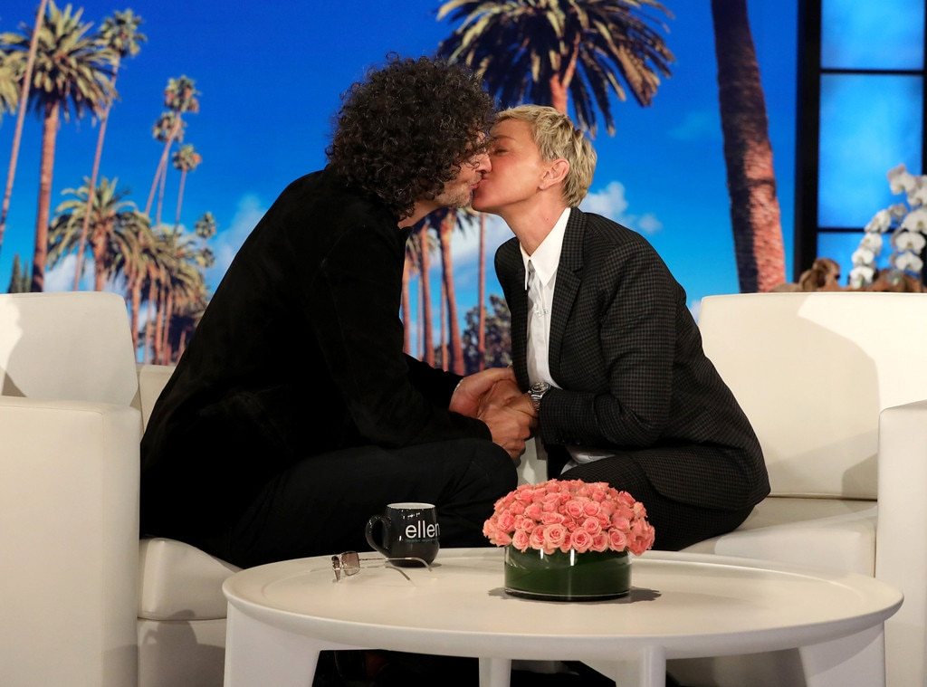 Howard Stern Kisses Ellen, Remarries Beth - Bachelor Colton Underwood Officiates