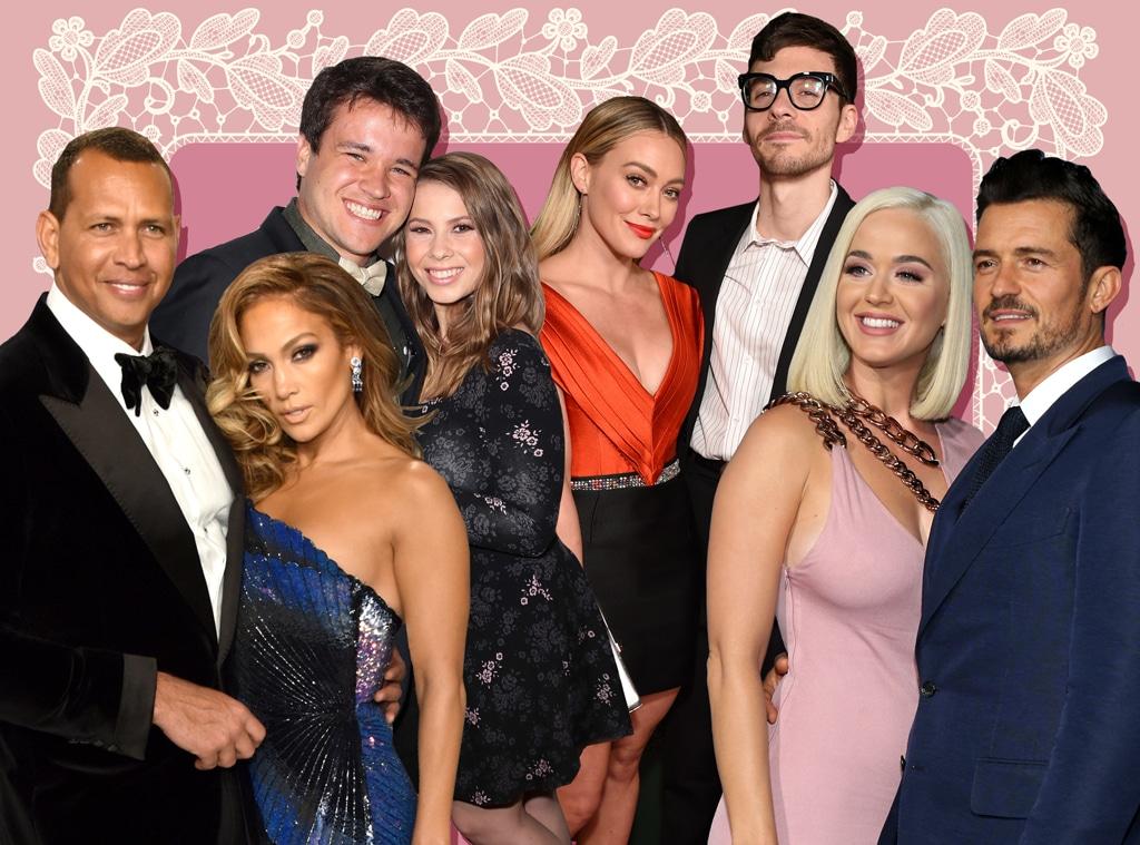 Wedding Watch 2019: Katy Perry, Orlando Bloom, Jennifer Lopez, Alex Rodriguez, Hilary Duff, Matthew Koma, Bindi Irwin, Chandler Powell