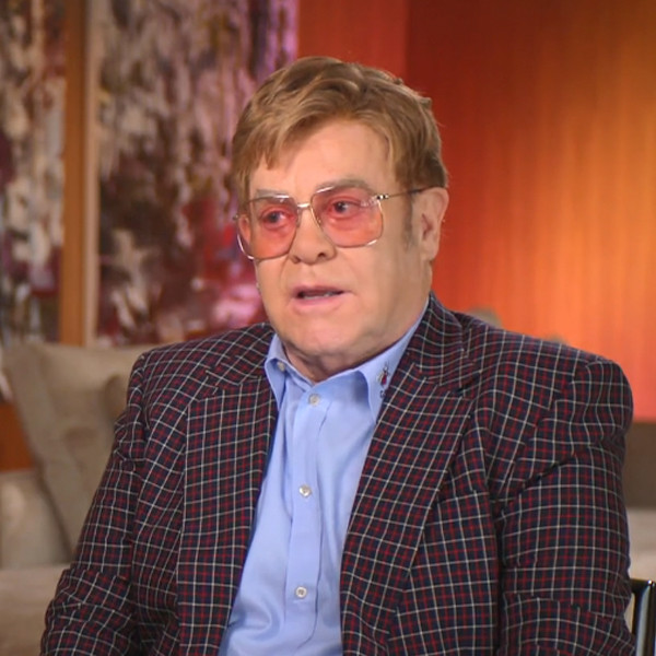 "Elton John Recalls How Cocaine Became The Drug That ""Opened"" Him Up"
