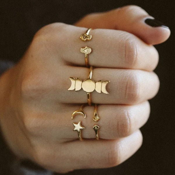 Get Witchy With These Full Moon Jewelry Must-Haves
