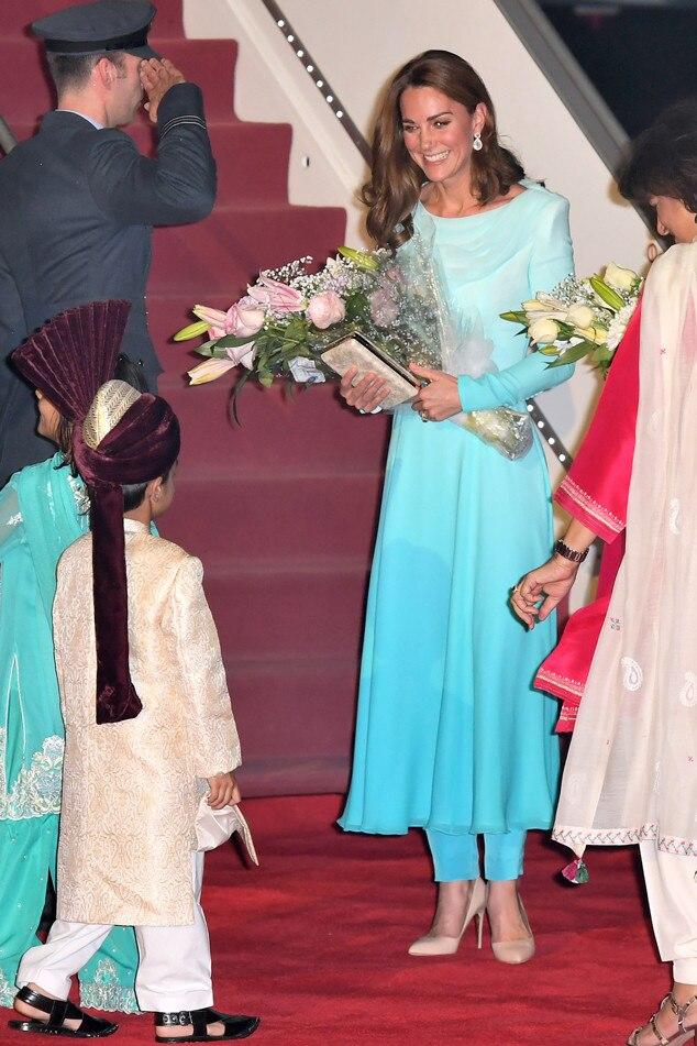 Kate Middleton, Pakistan