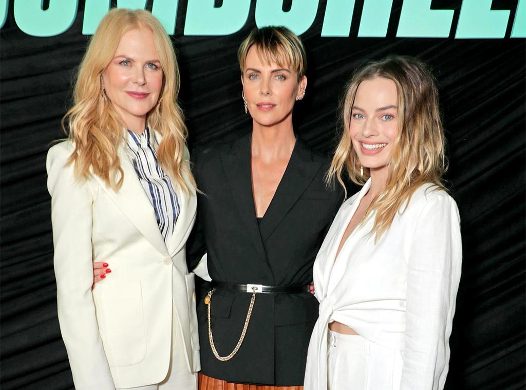 Nicole Kidman, Charlize Theron, Margot Robbie