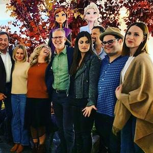 Josh Gad, Frozen 2 Cast Screening 2019
