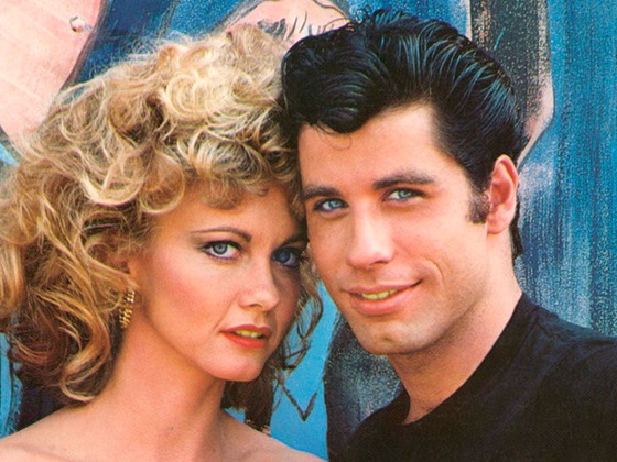 John Travolta and Olivia Newton-John Recreate Their <i>Grease</i> Looks for Sing-along
