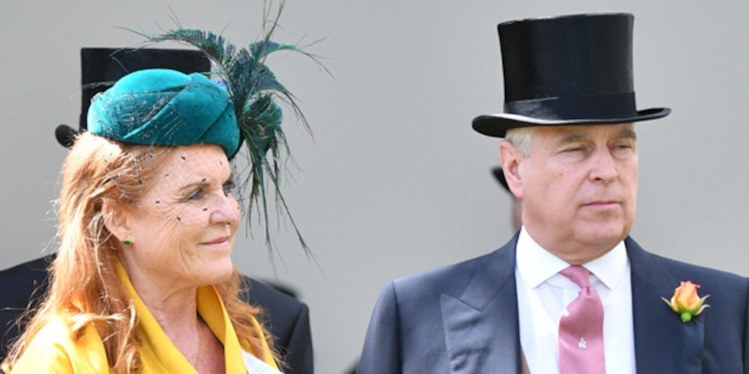 """Sarah Ferguson Defends """"Kind"""" Prince Andrew After He Stepped Back From Royal Duty - E! Online.jpg"""