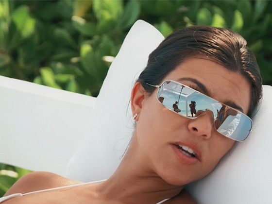 """Why Kourtney Kardashian Isn't Worrying About """"Partying or Guys"""" on Turks & Caicos Vacation"""