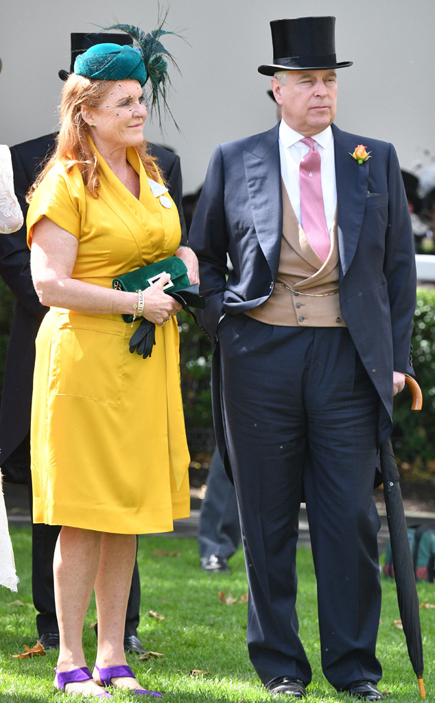 Sarah Ferguson Shows Support For Ex Prince Andrew Ahead Of Tell
