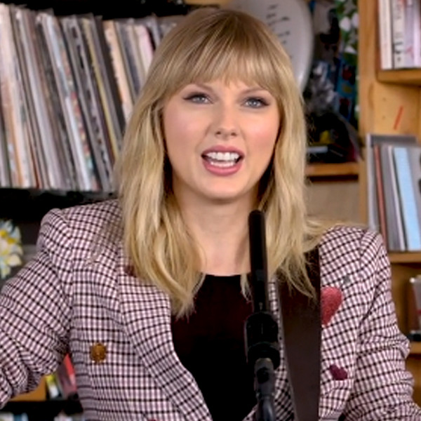 Taylor Swift's Stripped-Down Tiny Desk Performance Is Gorgeous
