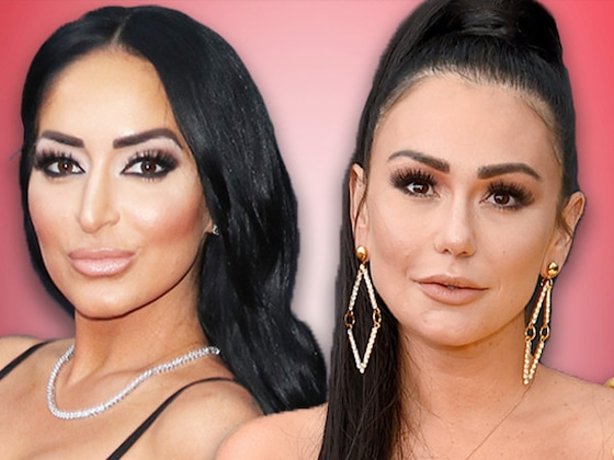 JWoww and Angelina's <i>Jersey Shore</i> Feud Escalates Over Threesome Drama