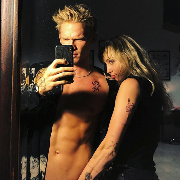 This Is Miley Cyrus and Cody Simpson's Riskiest Photo Yet