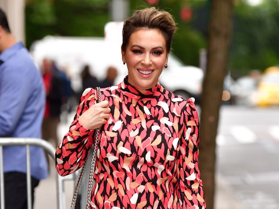 """Alyssa Milano Wants Her New Book to Inspire """"Hope For a Brighter Tomorrow"""""""