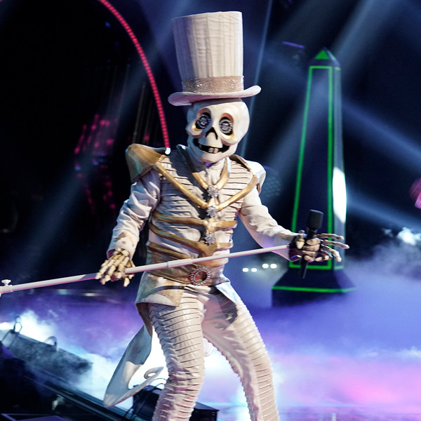 The Masked Singer Reveals the Skeleton—And the Judges Were Right