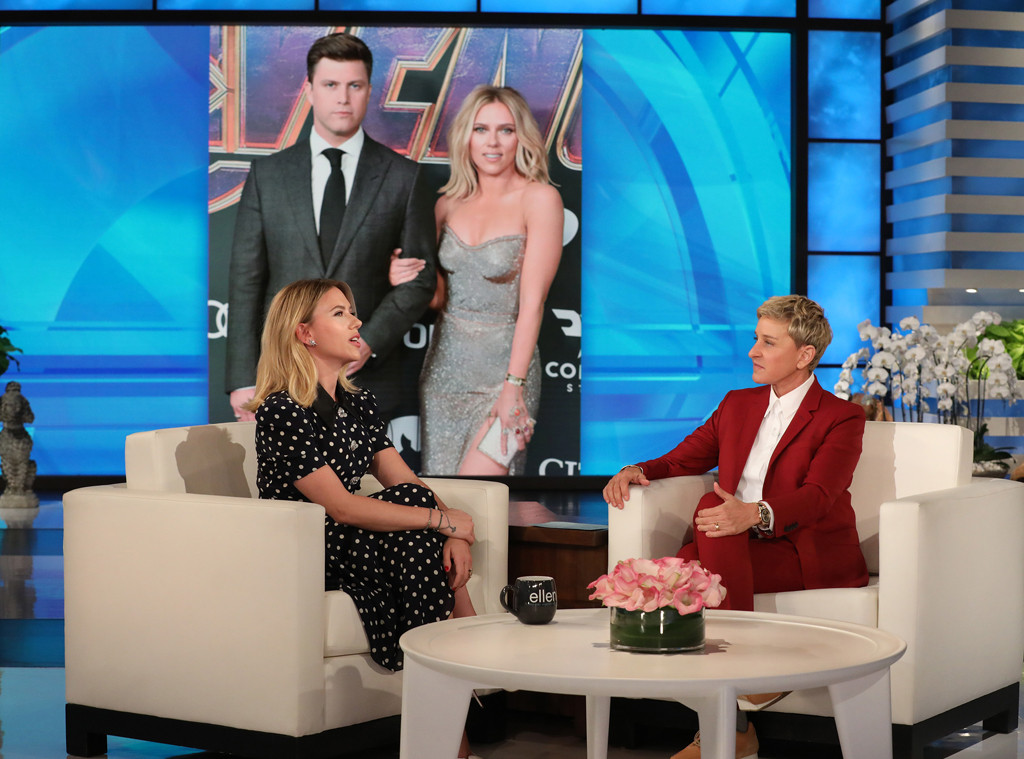 Scarlett Johansson, The Ellen DeGeneres Show 2019