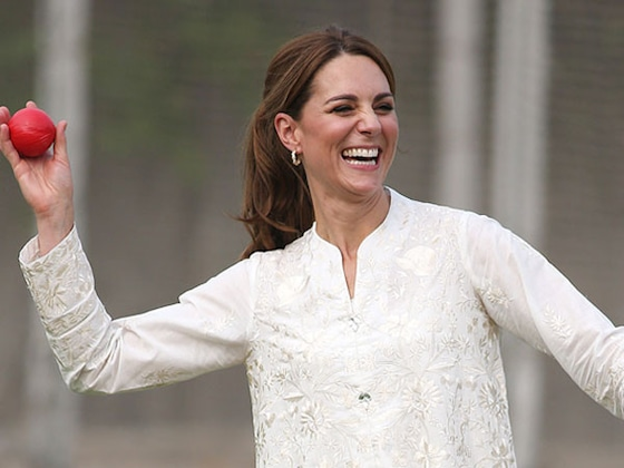 See All of Kate Middleton's Pakistan Royal Tour Outfits, From a Mosque to Cricket
