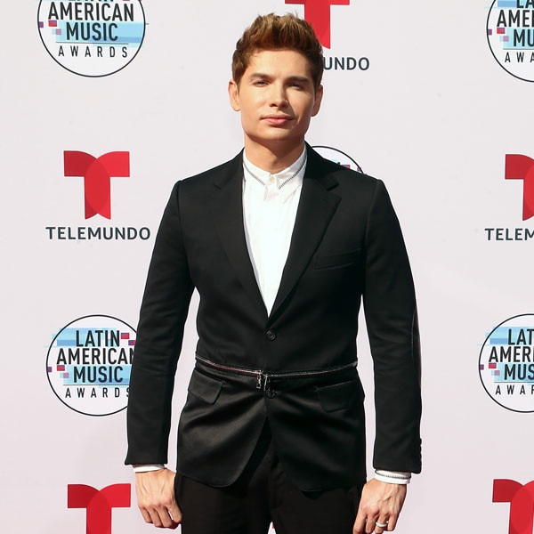 Christian Acosta, Latin American Music Awards 2019, Arrivals