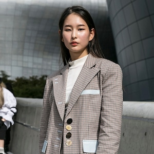 Street Style - Seoul Fashion Week 2020 S/S - Day 5