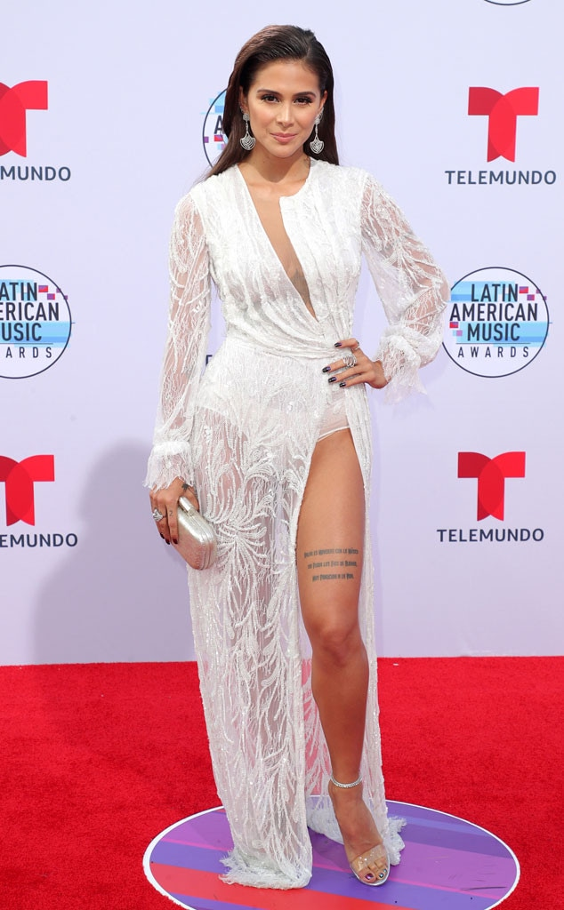 Greeicy Rendon, Latin American Music Awards 2019, Arrivals