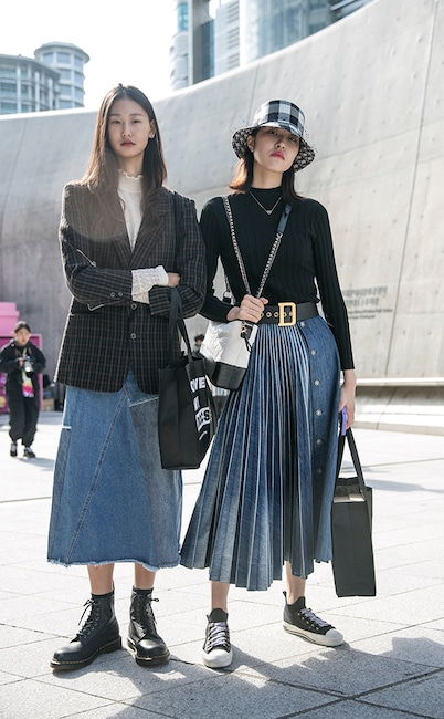 Korean Fashion 2020.The Best Street Style From Seoul Fashion Week Spring 2020