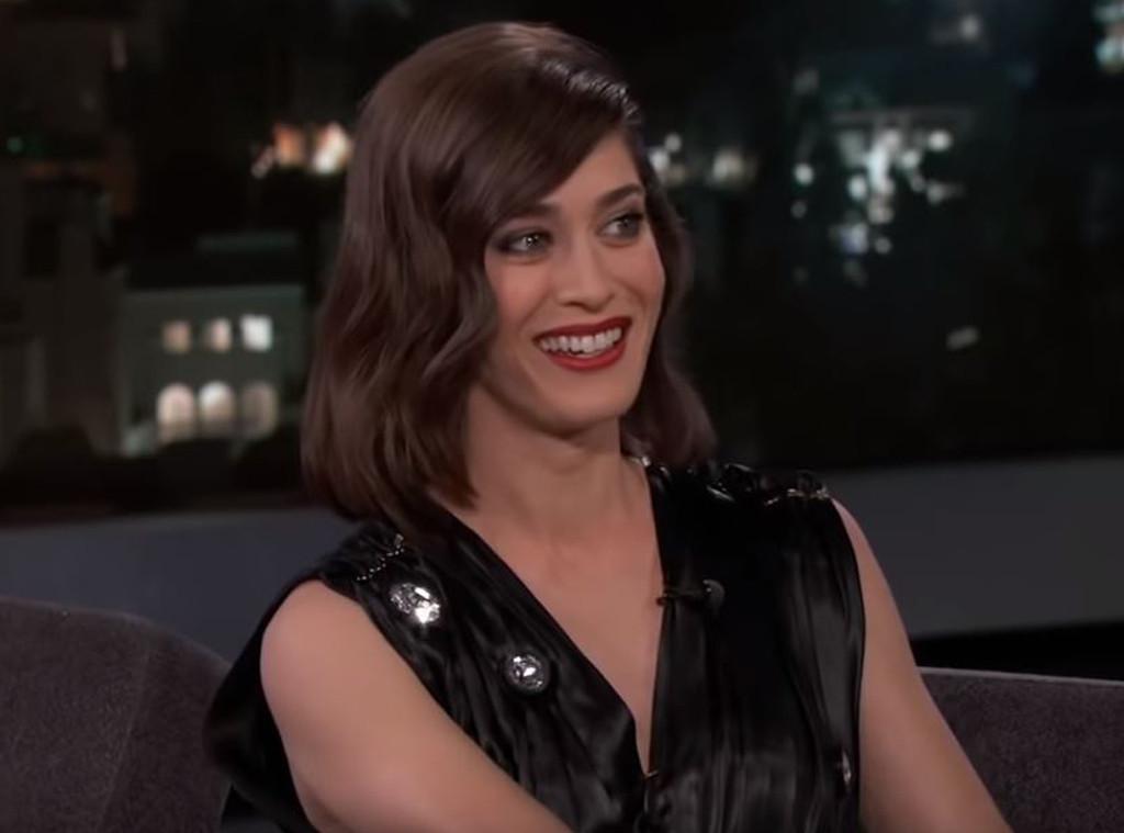 Lizzy Caplan, Jimmy Kimmel Live! 2019