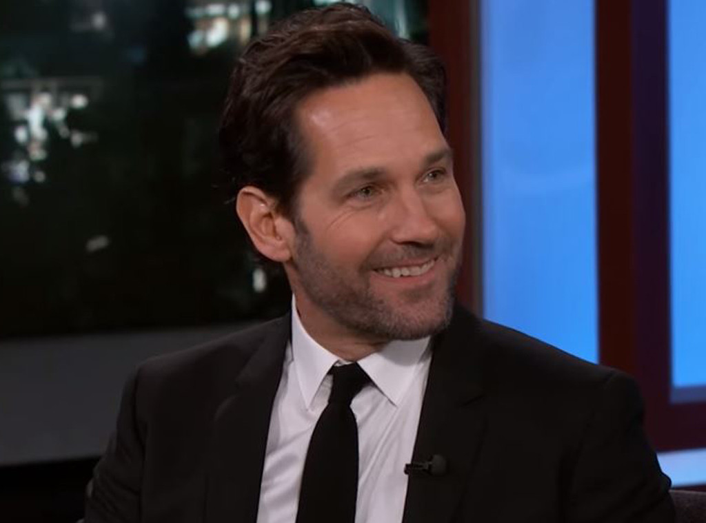 Paul Rudd, Jimmy Kimmel Live! 2019
