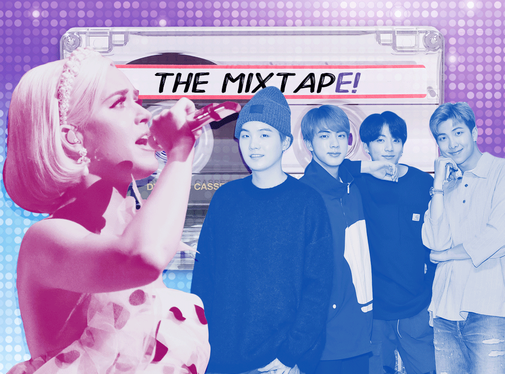 The MixTapE!, Katy Perry, BTS